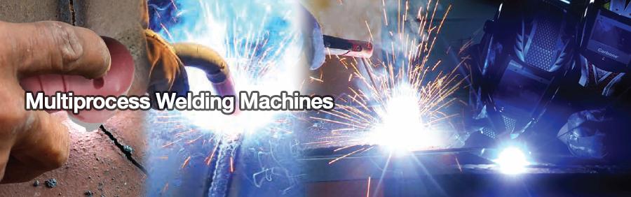 Multiprocess Welding Machines