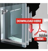 EOLO Bathroom Door System Catalog