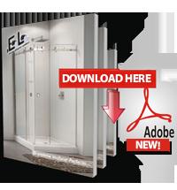 Standard Glass Bathroom Doors Catalog