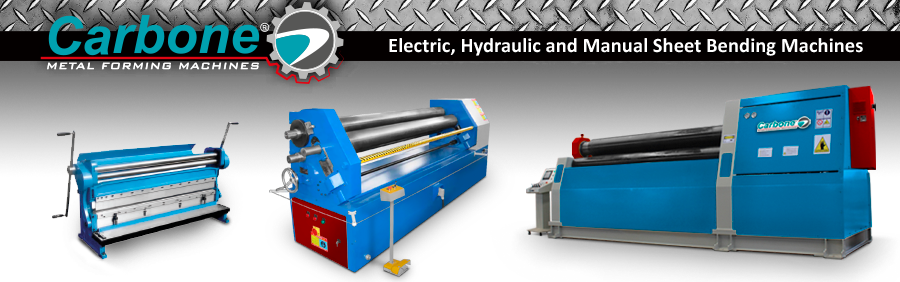 Electric, Hydraulic and Manual Sheet Bending Machines