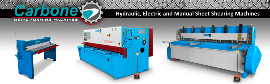 Hydraulic, Electric and Manual Sheet Shearing Machines