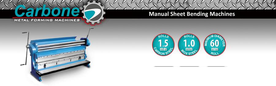 Manual Sheet Bending Machines