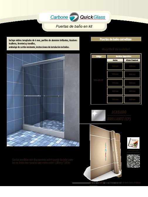 Kit de Puertas de Baño YLM